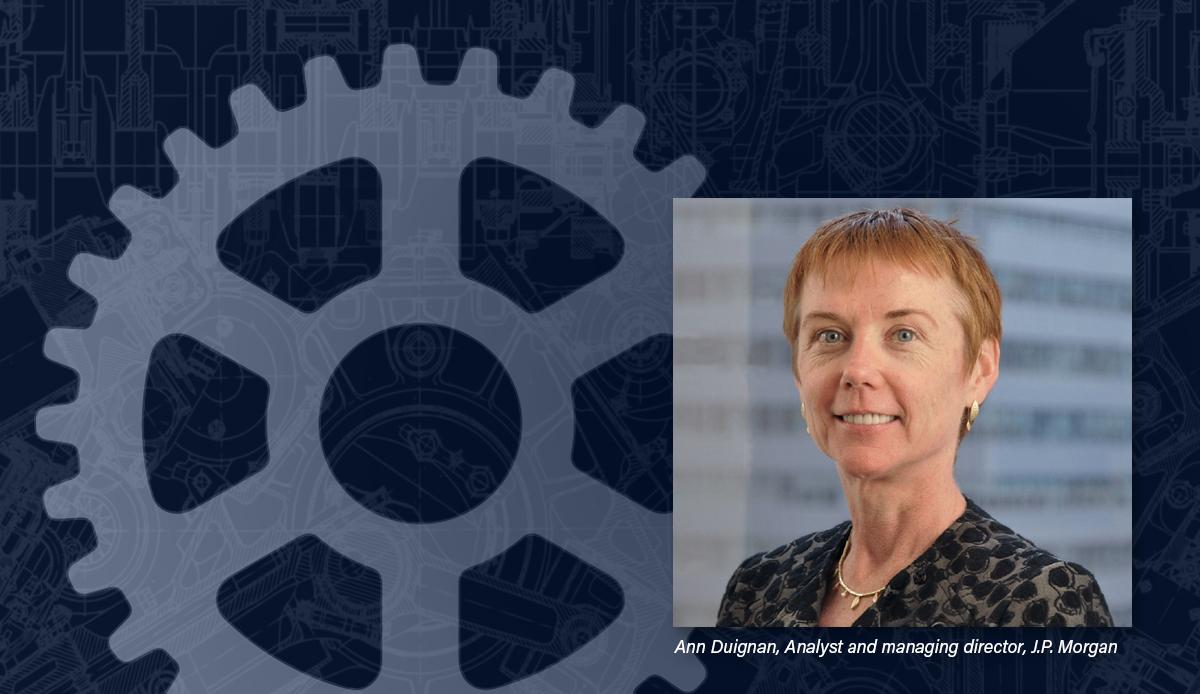 Ann Duignan Analyst J.P. Morgan