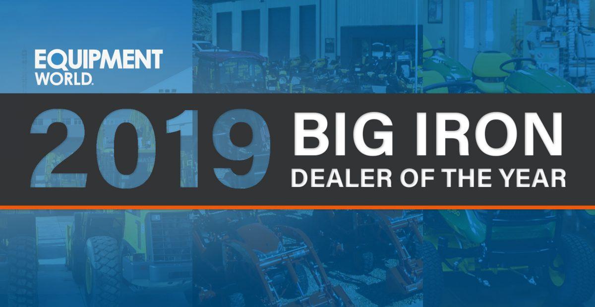 Equipment World 2019 Big Iron Dealer of the Year