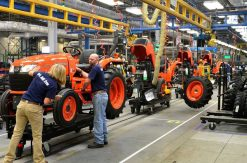 Kubota Tractor US Manufacturing Plant