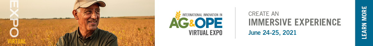 learn more about the AG & OPE Virtual Expo